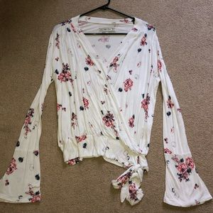 Abercrombie floral spring top